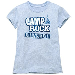Counselor Camp Rock 2 Tee for Girls
