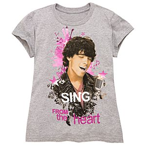 Sing from the Heart Camp Rock 2 Tee for Girls