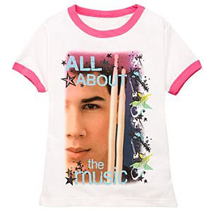 Organic All About the Music Camp Rock 2 Tee for Girls