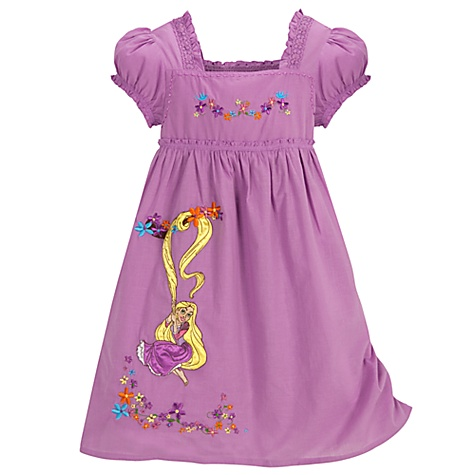 Summer Tangled Rapunzel Dress