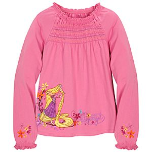 Long Sleeve Tangled Rapunzel Fashion Tee