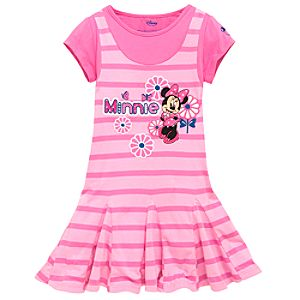 Striped Playhouse Minnie Mouse Jumper
