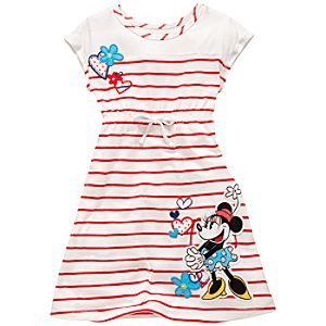 Sweetheart Striped Minnie Mouse Dress