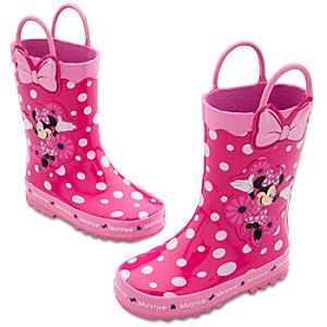 Minnie Mouse Rain Boots