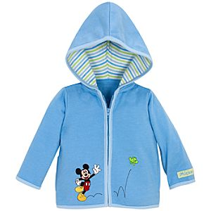 Springtime Hoodie Mickey Mouse Jacket for Infants