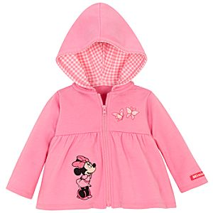 Butterfly Hoodie Minnie Mouse Jacket