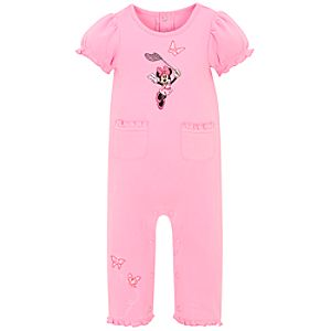 Butterfly Minnie Mouse Coverall for Infants