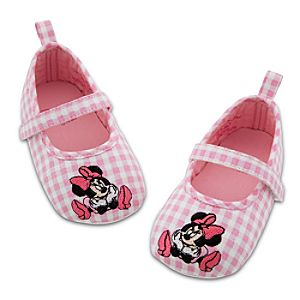 Gingham Minnie Mouse Shoes