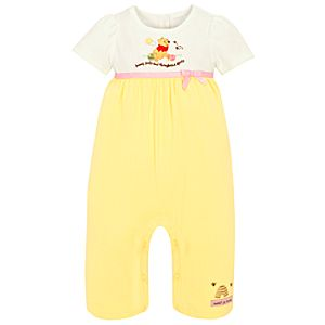 Sweet as Hunny Winnie the Pooh Coverall for Infants