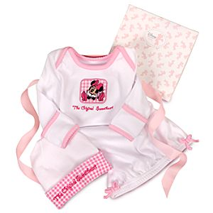 Organic Minnie Mouse Sleepwear Gift Set for Infants -- 2-Pc.