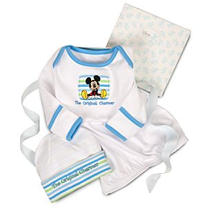 Organic Mickey Mouse Sleepwear Gift Set for Infants -- 2-Pc.