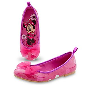 Ballet Flat Minnie Mouse Shoes