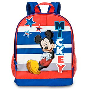 Personalized Mickey Mouse Backpack
