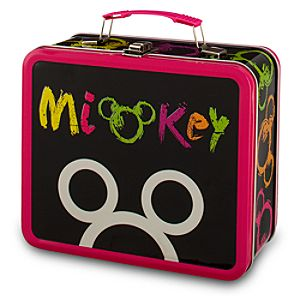 Mickey Mouse Metal Tote Box