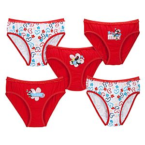Sweetheart Minnie Mouse Underwear Set -- 5-Pack
