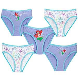 Ariel Underwear Set -- 5-Pack