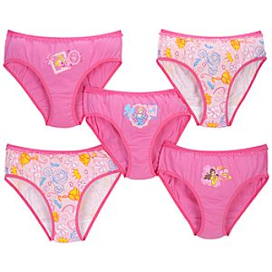 Disney Princess Underwear Set -- 5-Pack