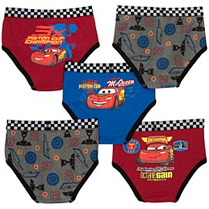 Disney Cars Underwear Set -- 5-Pack