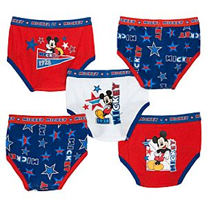 Mickey Mouse Underwear Set -- 5-Pack