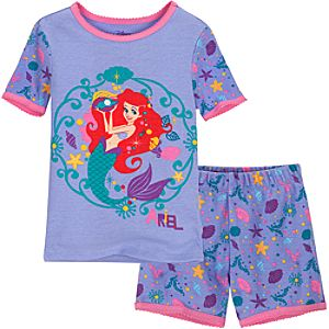Short Ariel PJ Pal for Girls