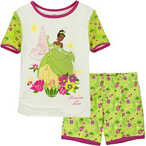Short Tiana PJ Pal for Girls