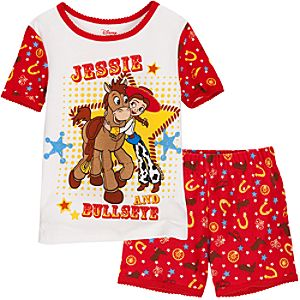 Short Jessie and Bullseye PJ Pal for Girls