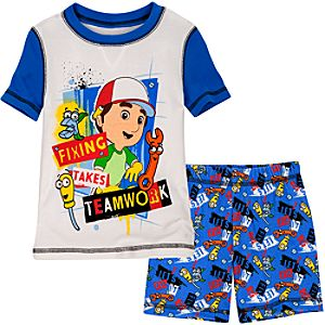 Short Handy Manny PJ Pal for Boys