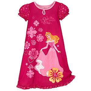 Sleeping Beauty Nightshirt for Girls