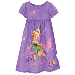 Tinker Bell Nightshirt for Girls