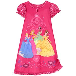 Princess at Heart Disney Princess Nightshirt for Girls