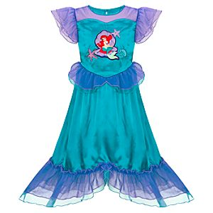Ruffled Deluxe Ariel Nightgown