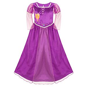 Deluxe Tangled Rapunzel Nightgown for Girls