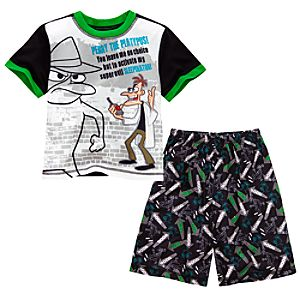 Phineas and Ferb Perry PJ Set