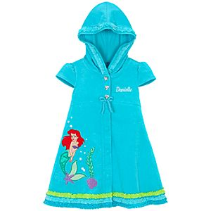 Personalized Ariel Hooded Cover Up