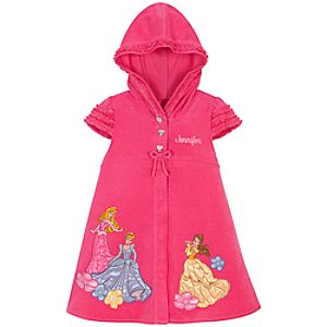 Personalized Disney Princess Hooded Cover Up