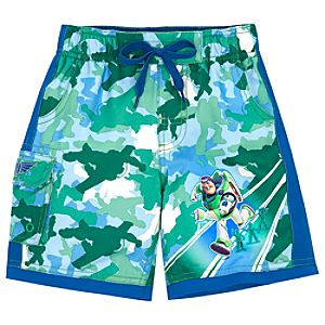 Camouflage Buzz Lightyear Swim Trunks