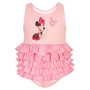 Butterfly Minnie Mouse Swimsuit for Toddler Girls