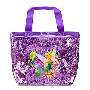 Personalized Deluxe Glitter Tinker Bell Swim Tote Bag