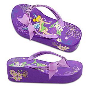 Platform Tinker Bell Flip Flops