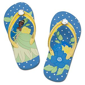 Rhinestone Tiana Flip Flops