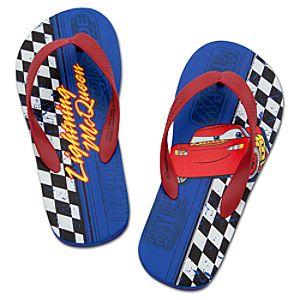 Lightning McQueen Flip Flops