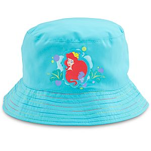 Rainbow Brim Ariel Swim Hat for Girls