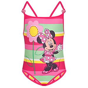 Reversible Minnie Mouse Swimsuit for Toddlers