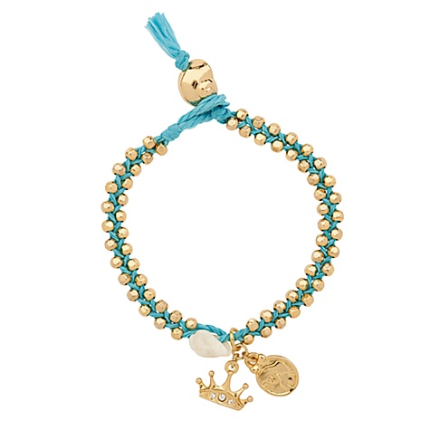 New Braided ARIEL Mermaid Bracelet by Disney Couture | eBay