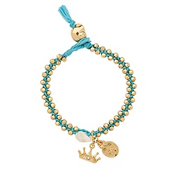 Braided Ariel Bracelet by Disney Couture