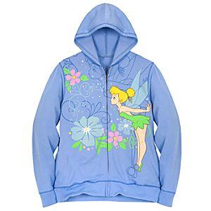 Hoodie Tinker Bell Sweatshirt Jacket