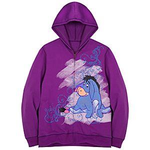 Hoodie Eeyore Sweatshirt Jacket