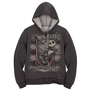 Hoodie Graveyard Jack Skellington Sweatshirt Jacket