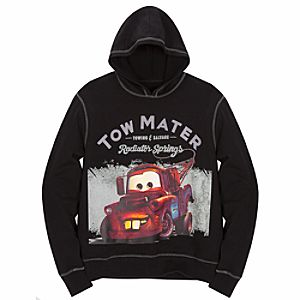 Mens Hoodie Tow Mater Sweatshirt