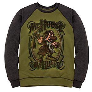Raglan Sleeve Fleece Grumpy Sweatshirt